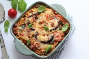 eggplant parmesan is one of the best post hospital meals